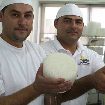 Funtanazza's cheese (photo Provincia Medio Campidano)